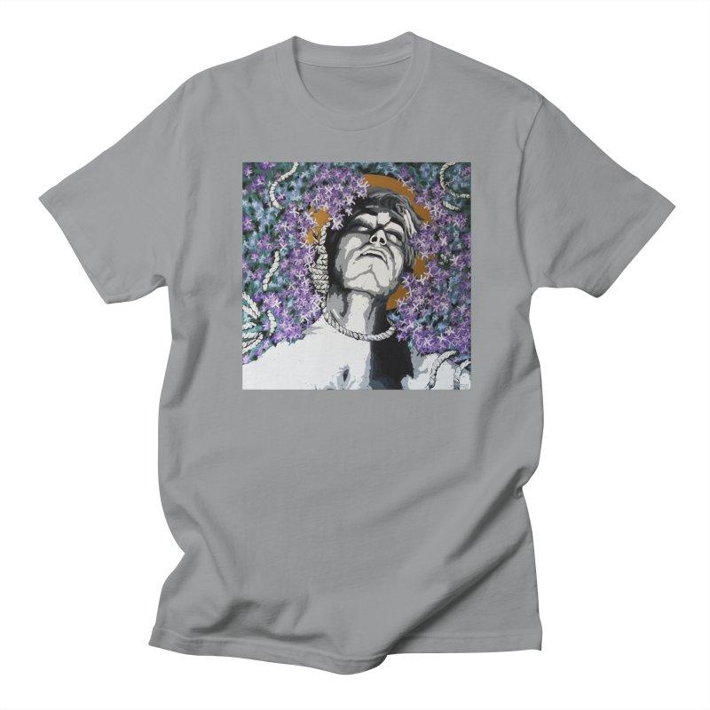 Choking love by Szymon K Men's Regular T-Shirt by We Wear Art Light