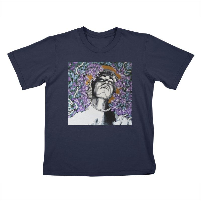 Choking love by Szymon K Kids T-Shirt by We Wear Art Light