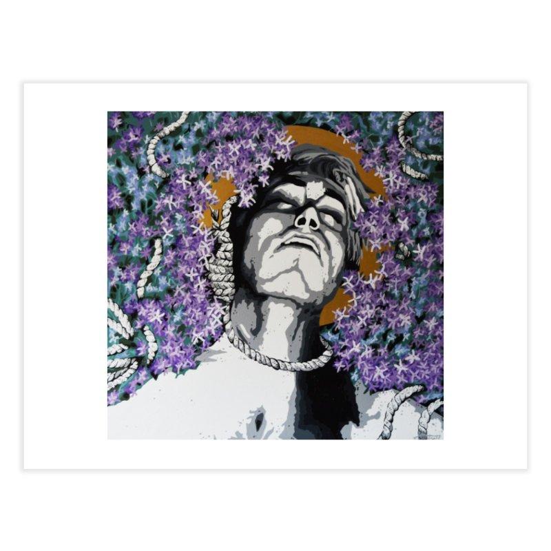 Choking love by Szymon K Home Fine Art Print by We Wear Art Light