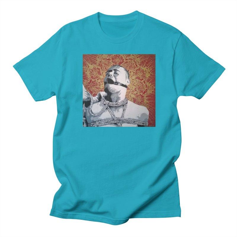 Hard Love by Szymon K Men's Regular T-Shirt by We Wear Art Light