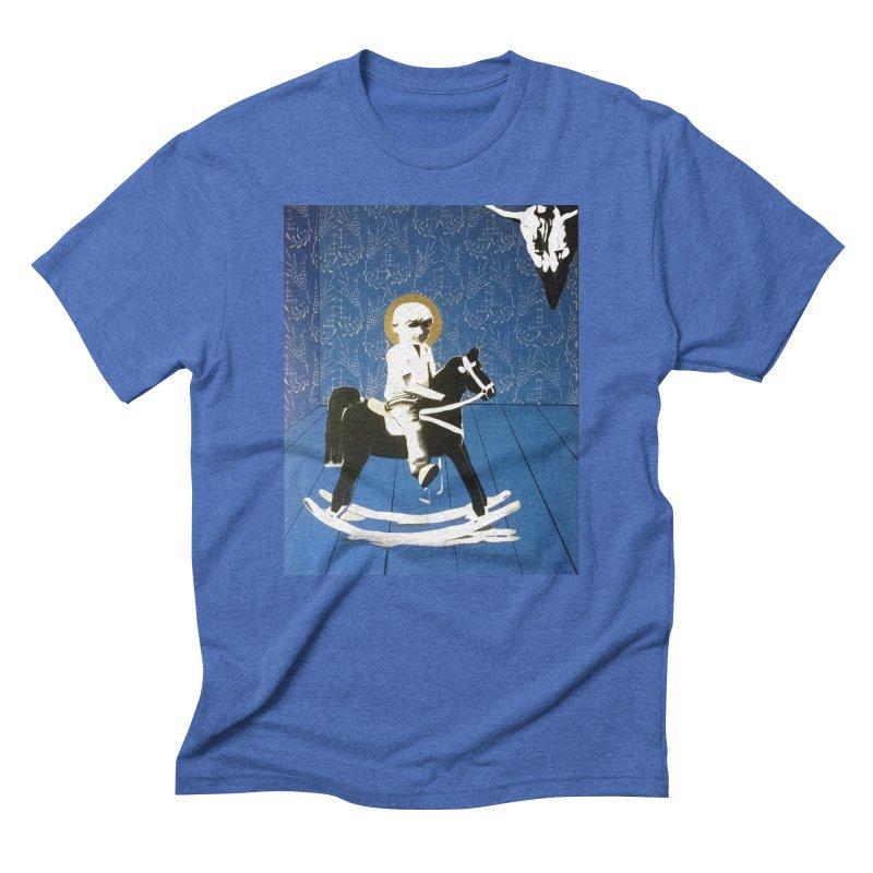 Wood Horse by Szymon K Men's T-Shirt by We Wear Art Light