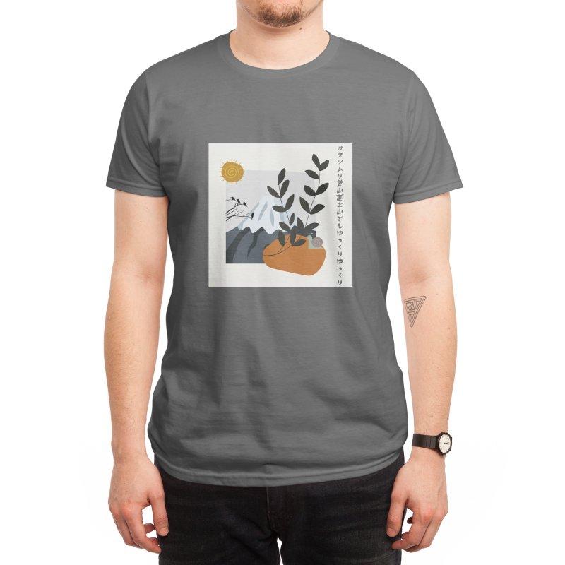 Fuji Japan Men's T-Shirt by Weartees's Artist Shop
