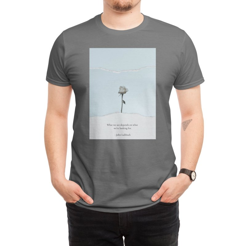 The White Rose Men's T-Shirt by Weartees's Artist Shop