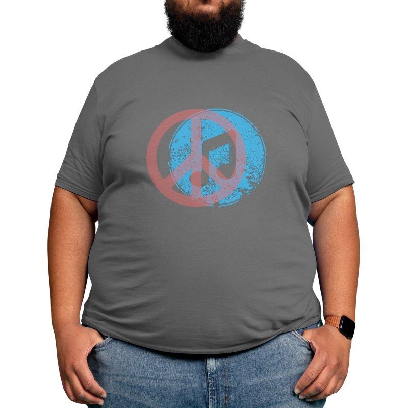 Music X Peace Men's T-Shirt by Weartees's Artist Shop