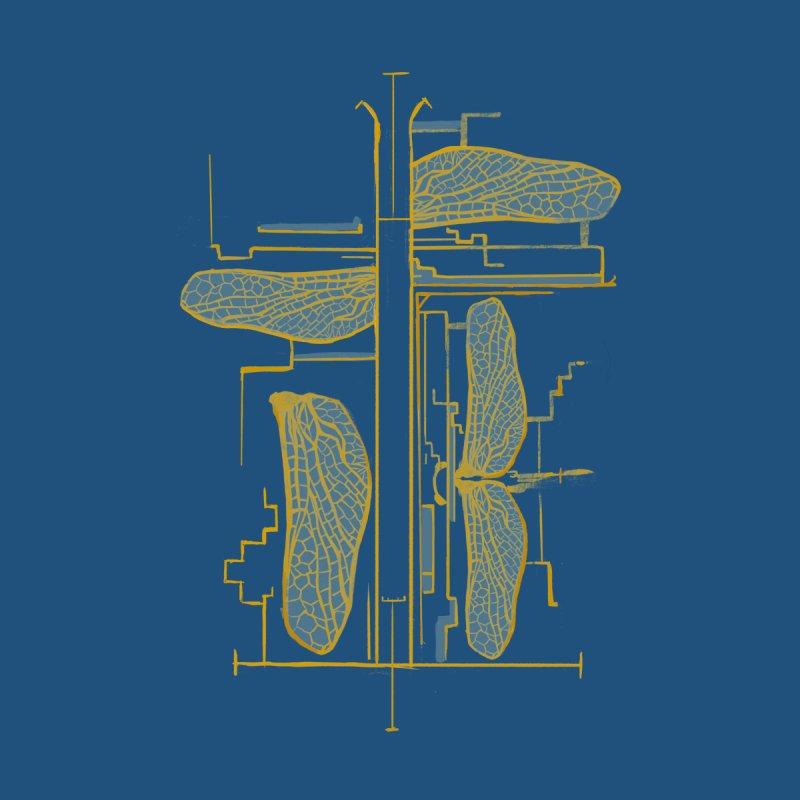 Weeds Dragonfly Diagram Mens T Shirt