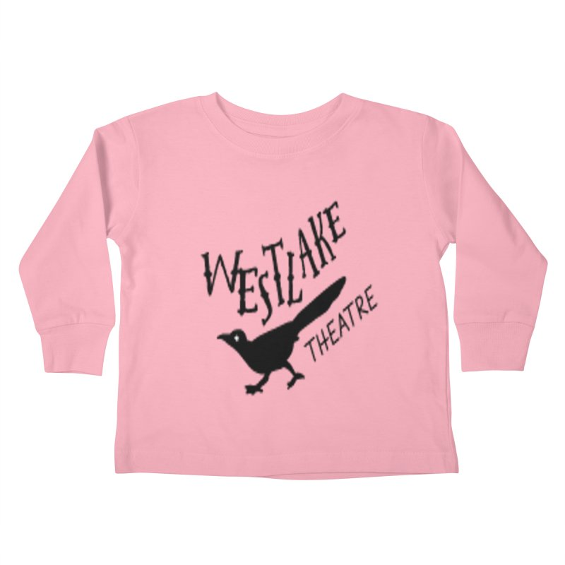 Westlake Theatre Chaparral Kids Toddler Longsleeve T-Shirt by WestlakeTheatre's Artist Shop