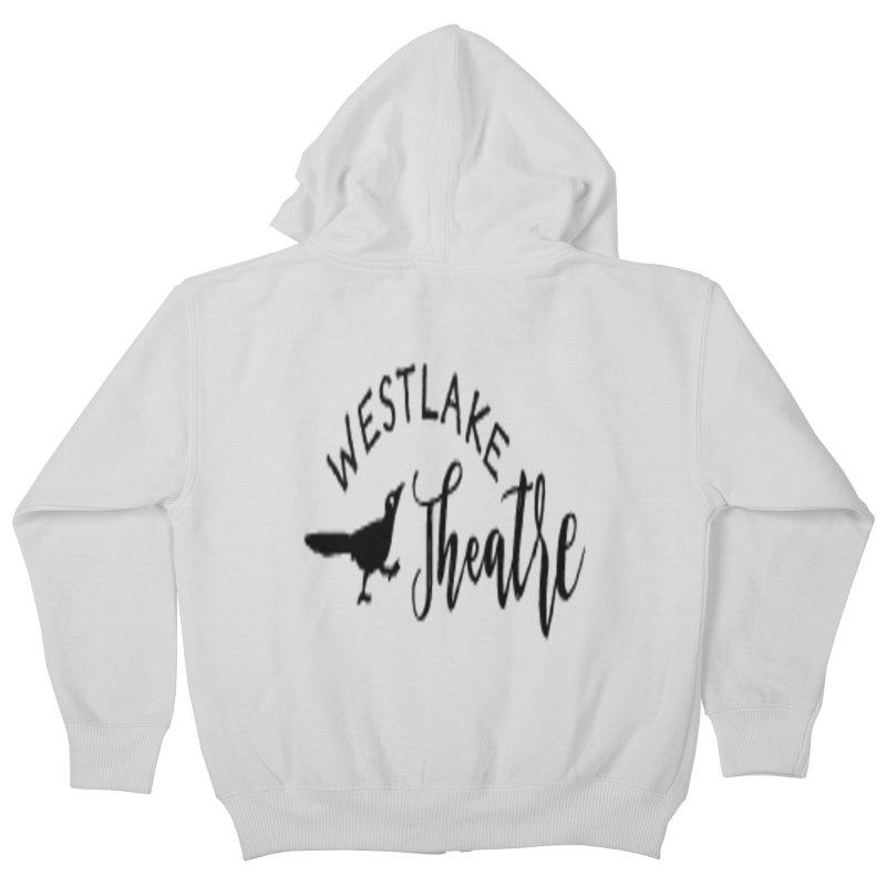 Westlake Theatre Chaparral Sweatshirt Kids Zip-Up Hoody by WestlakeTheatre's Artist Shop