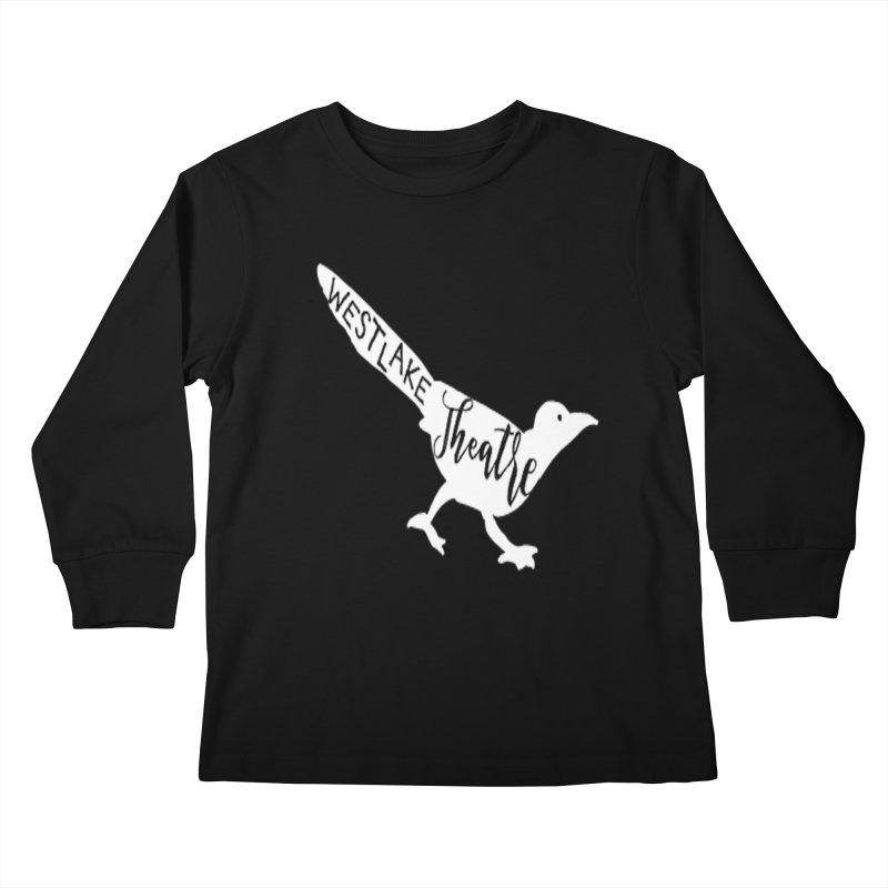 Westlake Theatre Chaparral (Classic Black Tee & Hoody) Kids Longsleeve T-Shirt by WestlakeTheatre's Artist Shop