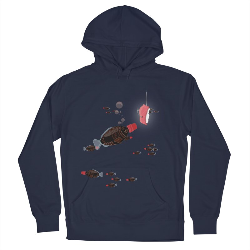 Deep Soy Fishing Women's Pullover Hoody by Westofoxley's Artist Shop