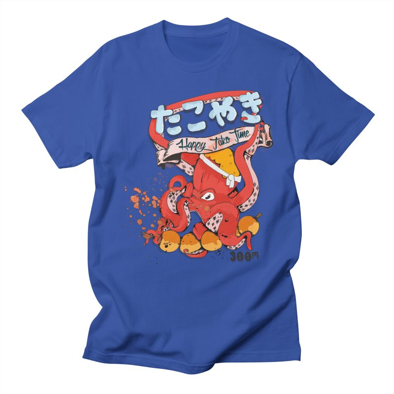Takoyaki Time Men's T-Shirt by Westofoxley's Artist Shop