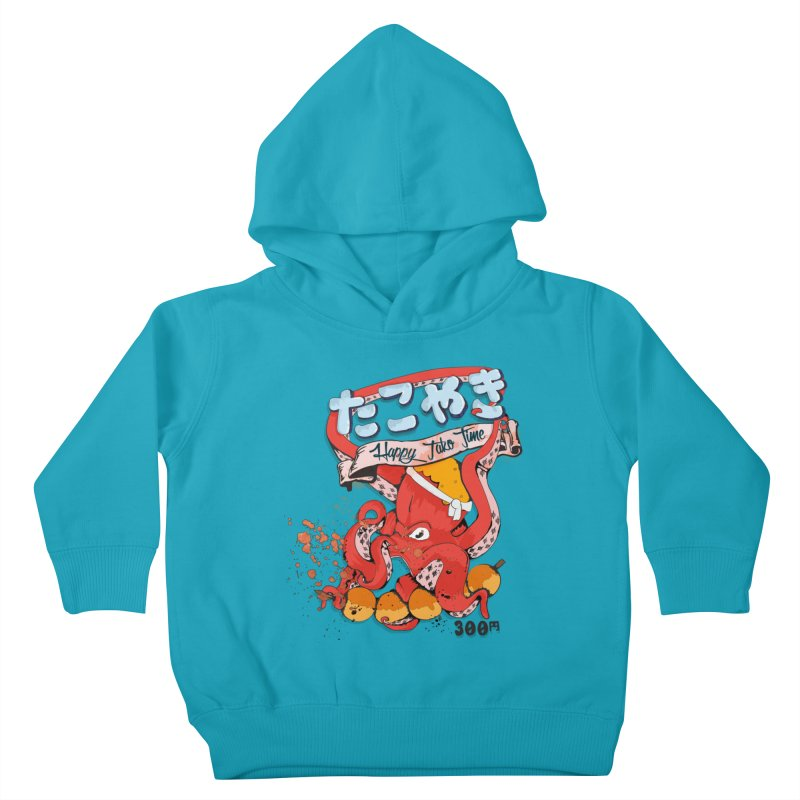 Takoyaki Time Kids Toddler Pullover Hoody by Westofoxley's Artist Shop
