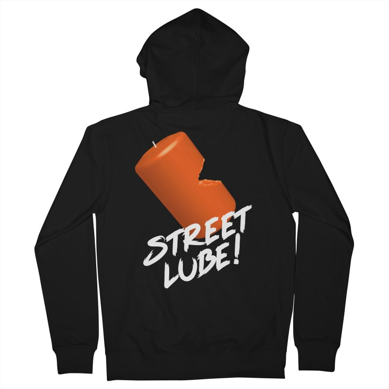 Street Lube Men's French Terry Zip-Up Hoody by Westofoxley's Artist Shop