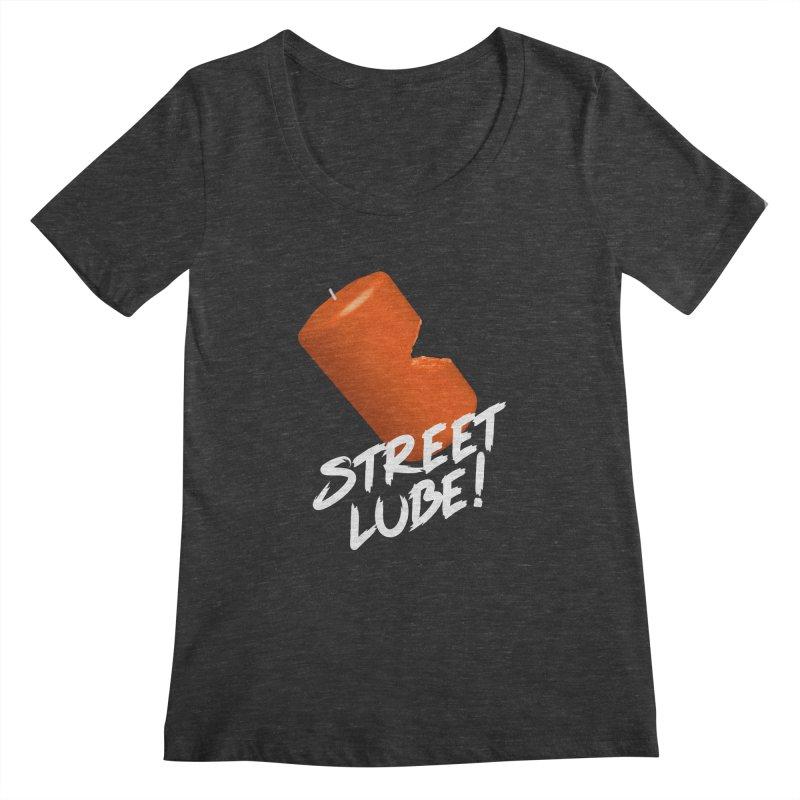 Street Lube Women's Regular Scoop Neck by Westofoxley's Artist Shop
