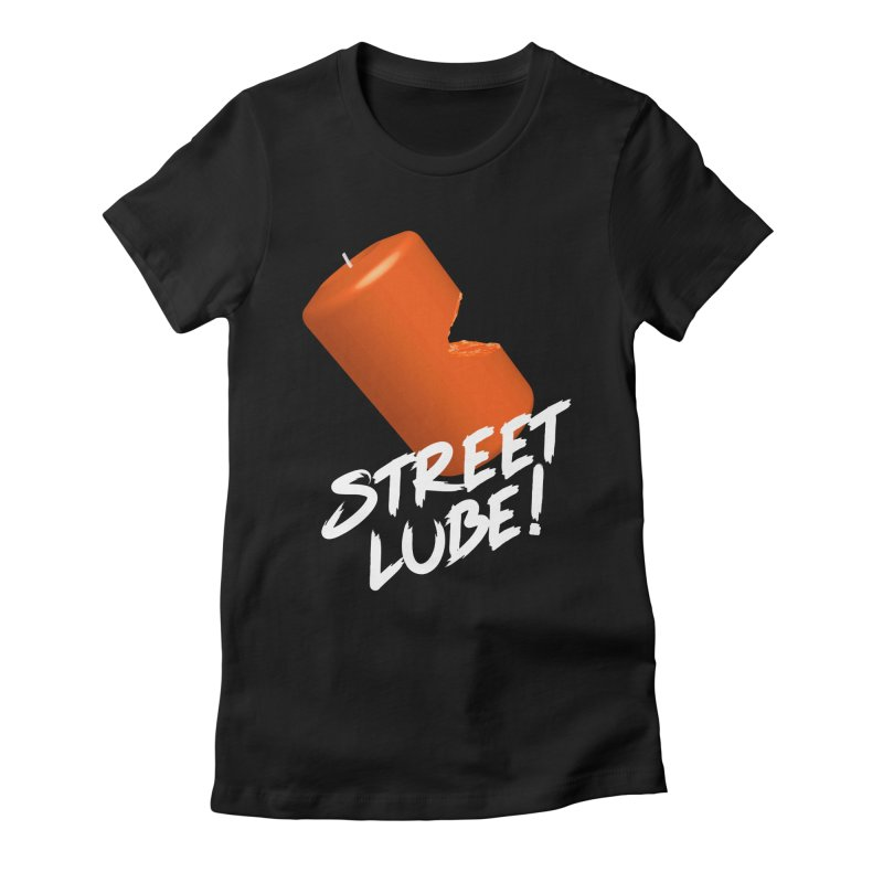 Street Lube Women's Fitted T-Shirt by Westofoxley's Artist Shop