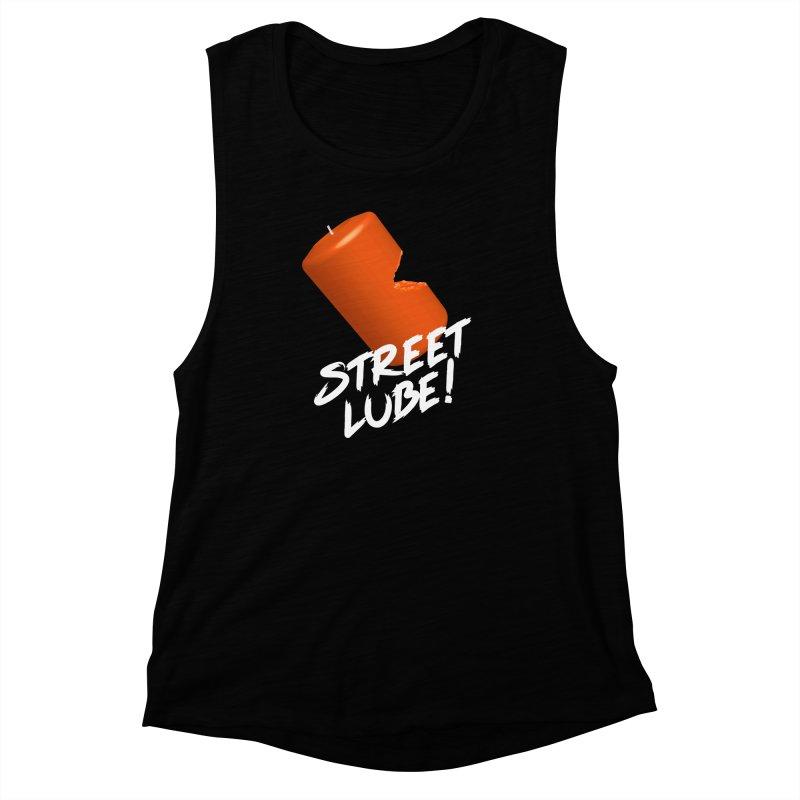 Street Lube Women's Muscle Tank by Westofoxley's Artist Shop