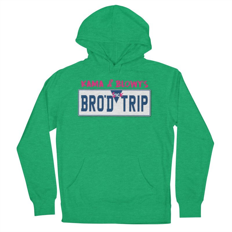 BRO'D TRIP Men's French Terry Pullover Hoody by Westofoxley's Artist Shop