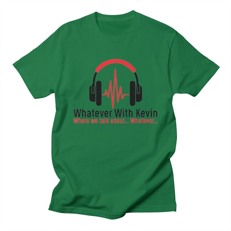 Whatever with Kevin Logo Men's T-Shirt by WhateverwithKevin's Artist Shop