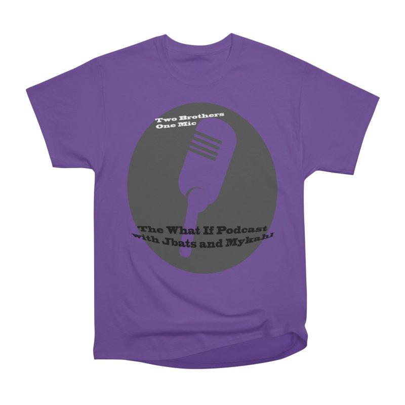 two brothers Men's Heavyweight T-Shirt by Whatifpod's Artist Shop