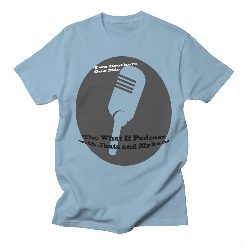 two brothers Men's Regular T-Shirt by Whatifpod's Artist Shop