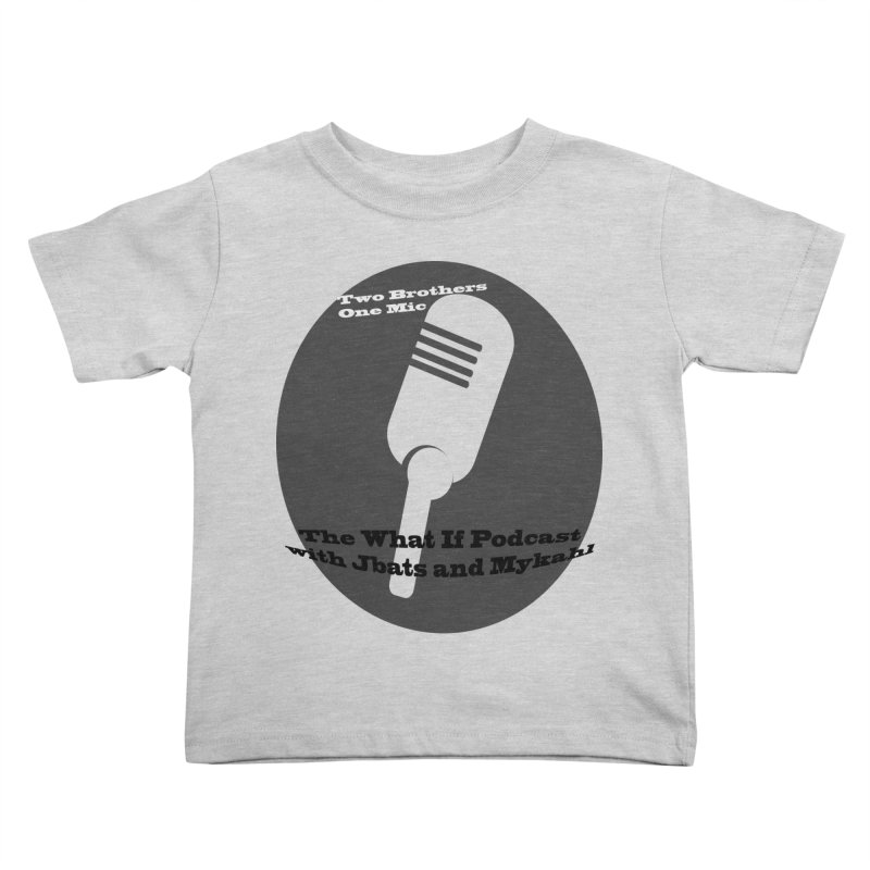 two brothers Kids Toddler T-Shirt by Whatifpod's Artist Shop