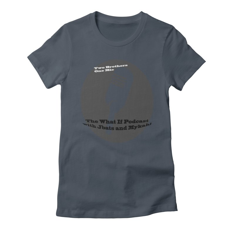 two brothers Women's T-Shirt by Whatifpod's Artist Shop