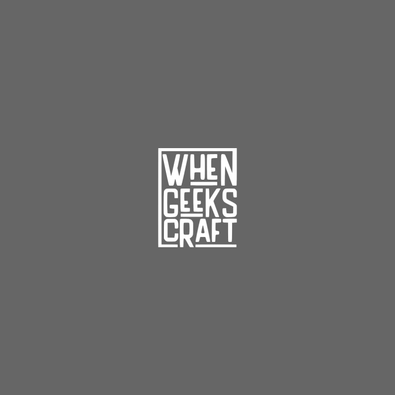 Small Logo Shirt Men's T-Shirt by WhenGeeksCraft's Artist Shop