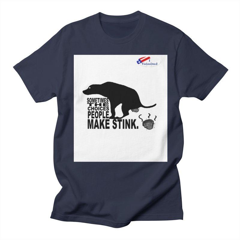 Dump Trump Men's T-shirt by Whereisyourmustache's Artist Shop