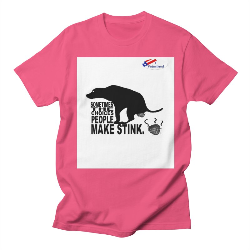 Dump Trump Women's Unisex T-Shirt by Whereisyourmustache's Artist Shop