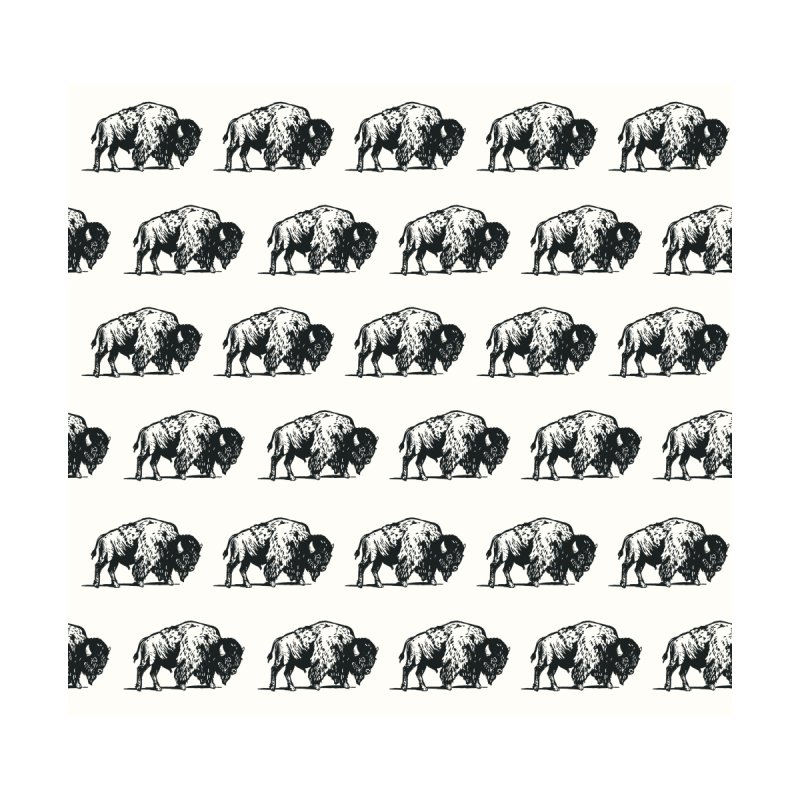 Cool Charcoal Buffalo Pattern Home Rug by The Whiskey Ginger