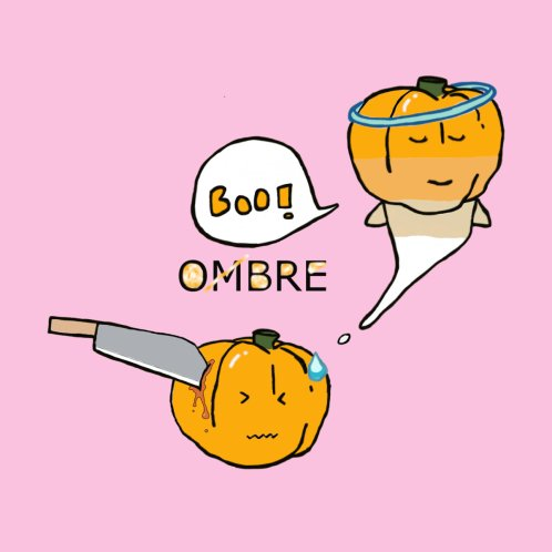 Design for Boo ombre