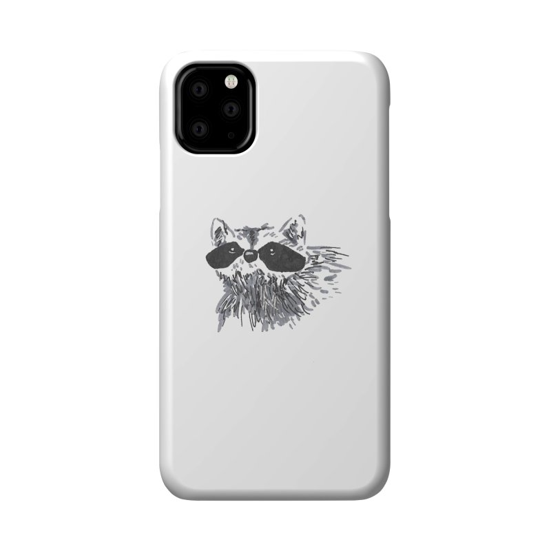 Cute Raccoon Hand-drawn Accessories Phone Case by The Wilderness Store