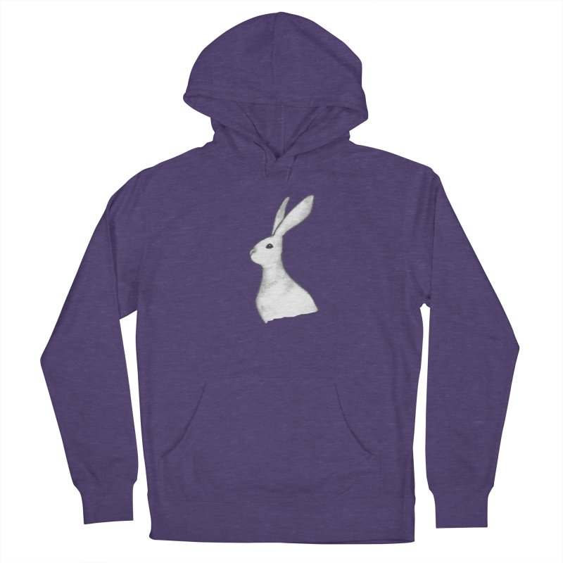 Jackrabbit in Ink Men's French Terry Pullover Hoody by The Wilderness Store