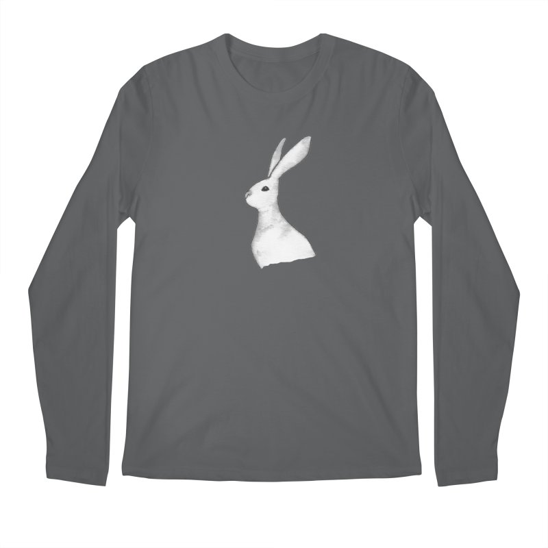 Jackrabbit in Ink Men's Regular Longsleeve T-Shirt by The Wilderness Store