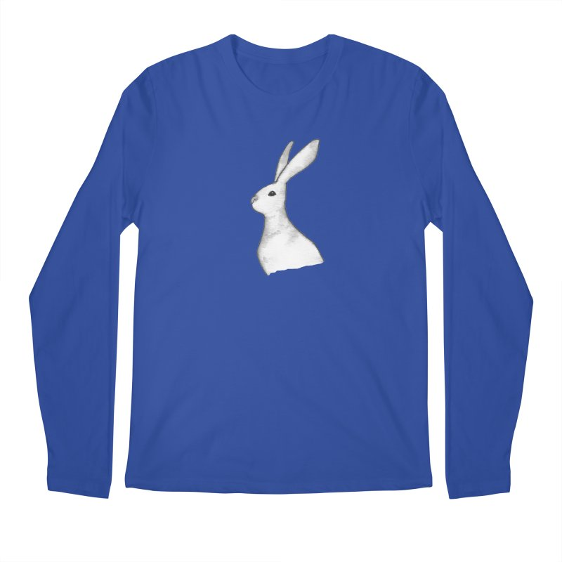 Jackrabbit in Ink Men's Regular Longsleeve T-Shirt by The Wilderness Store