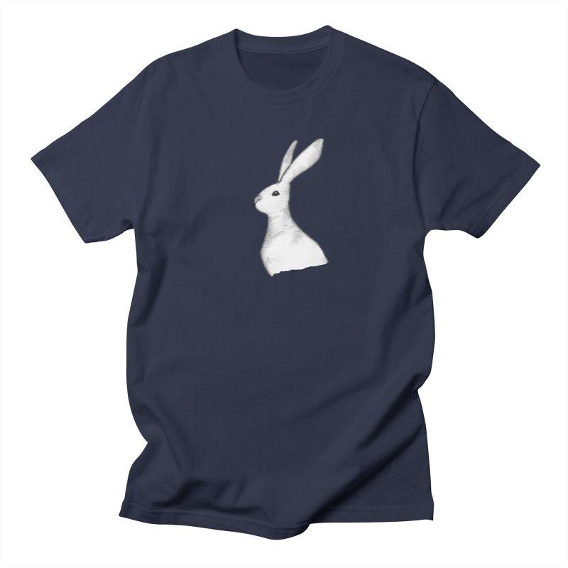 Jackrabbit in Ink Women's Regular Unisex T-Shirt by The Wilderness Store