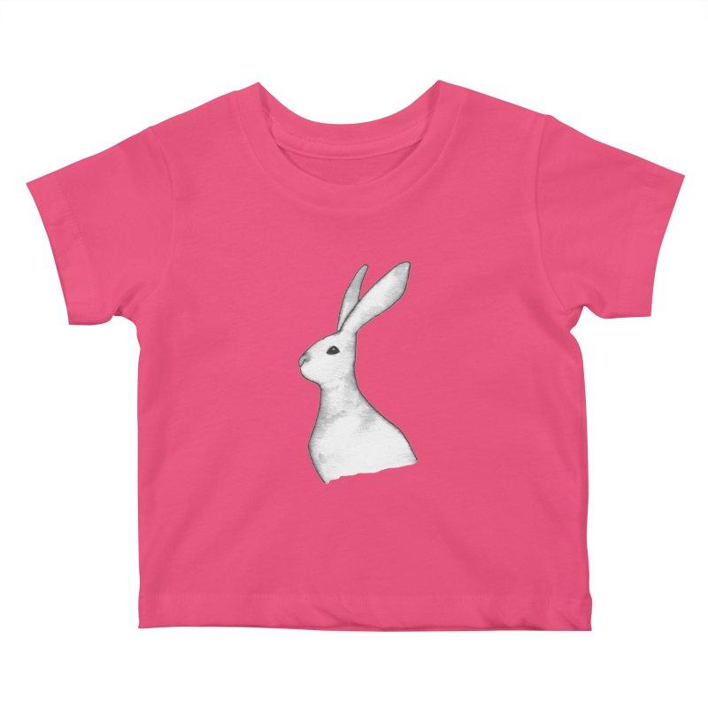 Jackrabbit in Ink Kids Baby T-Shirt by The Wilderness Store