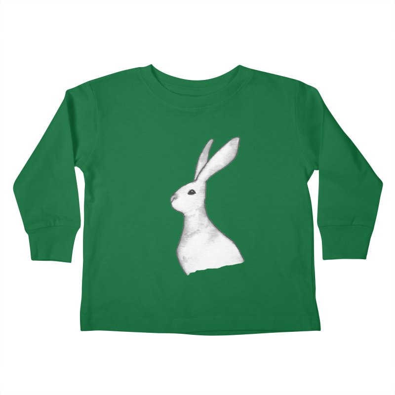 Jackrabbit in Ink Kids Toddler Longsleeve T-Shirt by The Wilderness Store