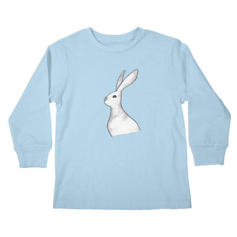 Jackrabbit in Ink Kids Longsleeve T-Shirt by The Wilderness Store