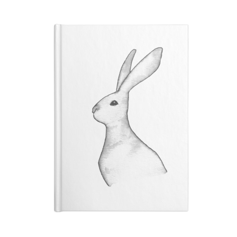 Jackrabbit in Ink Accessories Lined Journal Notebook by The Wilderness Store