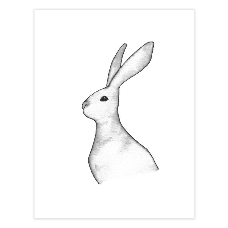 Jackrabbit in Ink Home Fine Art Print by The Wilderness Store
