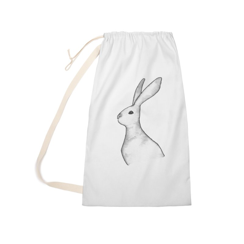 Jackrabbit in Ink Accessories Laundry Bag Bag by The Wilderness Store
