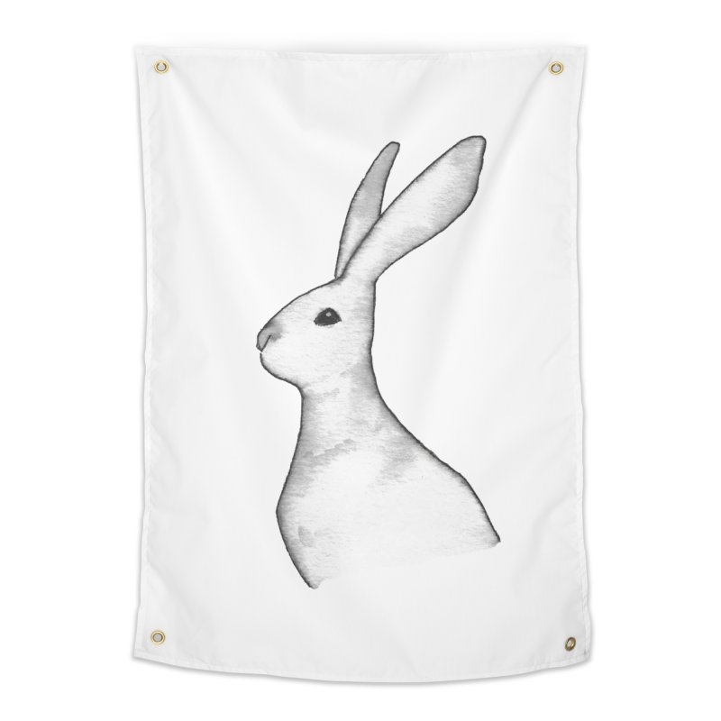 Jackrabbit in Ink Home Tapestry by The Wilderness Store