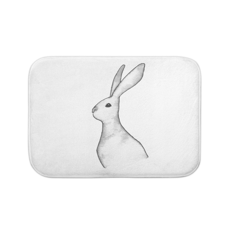 Jackrabbit in Ink Home Bath Mat by The Wilderness Store