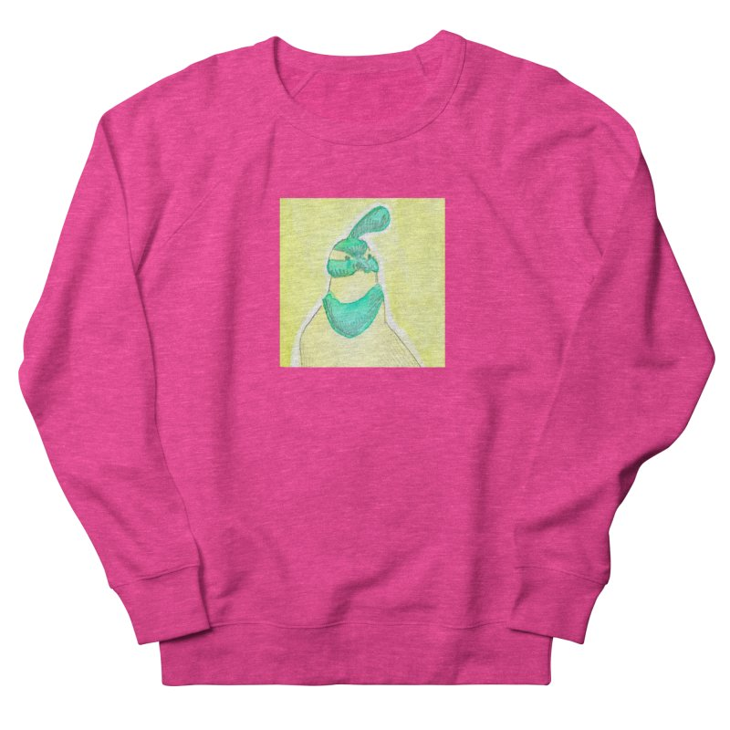 Quail in Blue, Green, Yellow Men's French Terry Sweatshirt by The Wilderness Store
