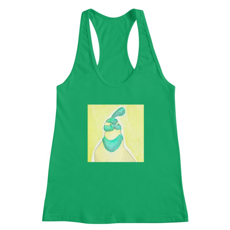 Quail in Blue, Green, Yellow Women's Tank by The Wilderness Store