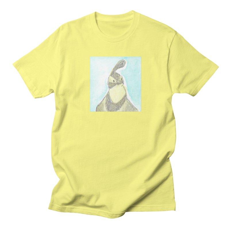 Gambel's Quail in Blue, Yellow Women's Regular Unisex T-Shirt by The Wilderness Store