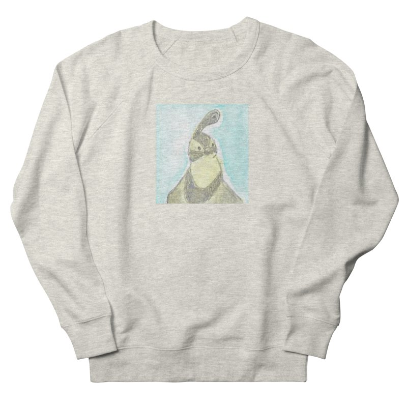 Gambel's Quail in Blue, Yellow Women's French Terry Sweatshirt by The Wilderness Store