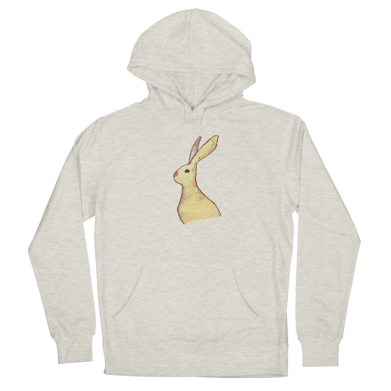 Jackrabbit in Orange Summer Sunset Women's French Terry Pullover Hoody by The Wilderness Store