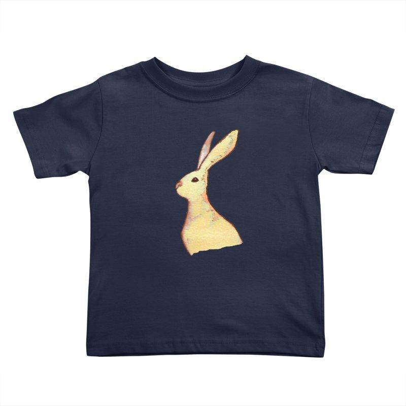 Jackrabbit in Orange Summer Sunset Kids Toddler T-Shirt by The Wilderness Store