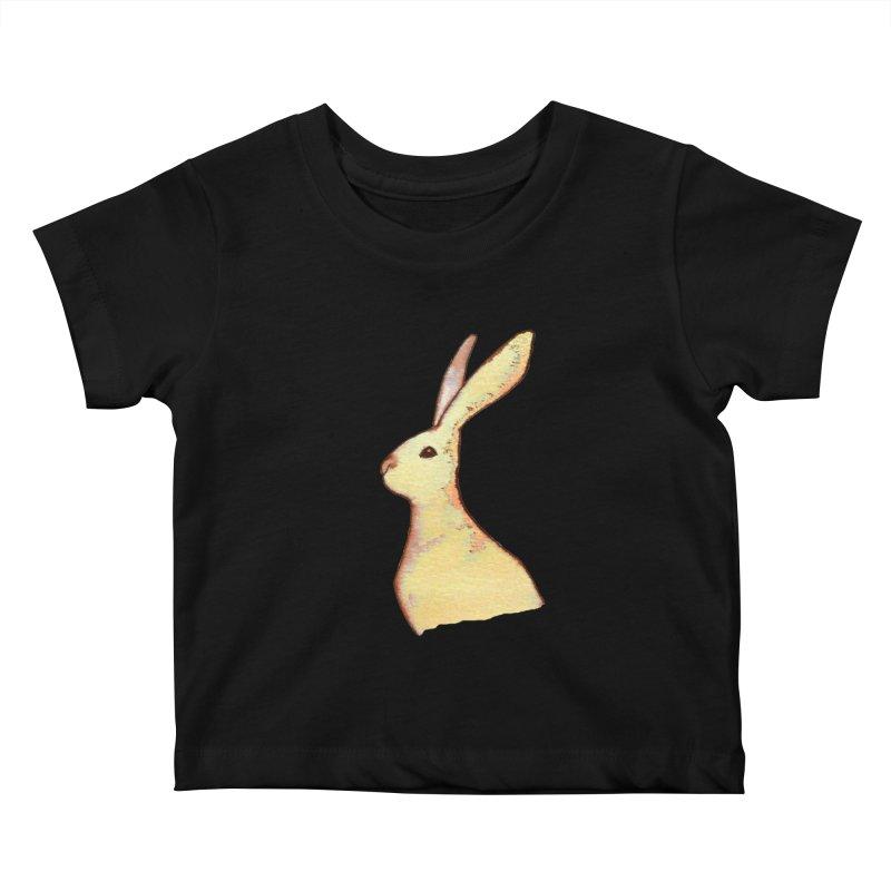 Jackrabbit in Orange Summer Sunset Kids Baby T-Shirt by The Wilderness Store